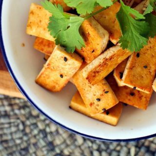 Sesame Stir-Fried Tofu
