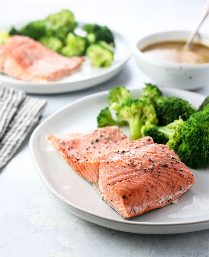 Instant Pot Salmon (Fresh or Frozen