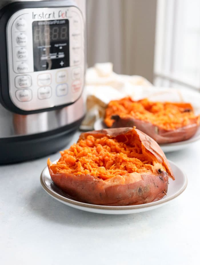 Instant Pot Sweet Potatoes (with fool-proof cook times!)