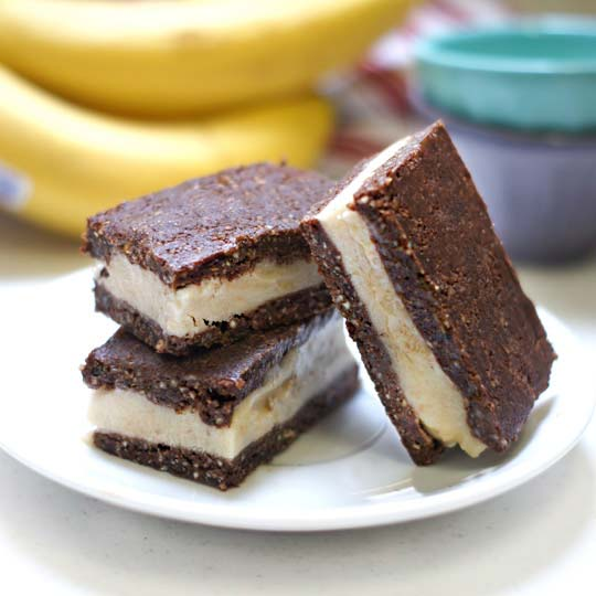Raw Ice Cream Sandwiches (Vegan, Paleo)