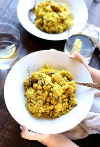Anti-Inflammatory Curry Rice & Vegetable Bowl