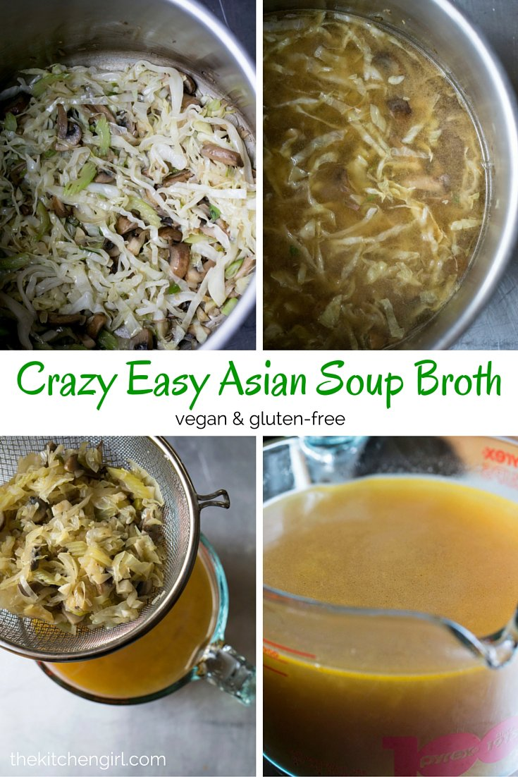 Crazy Easy Asian Soup Broth