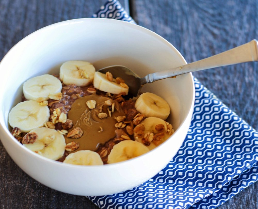 Chocolate Sun Butter Recovery Oats