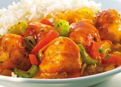 Apricot and Chicken Meatballs