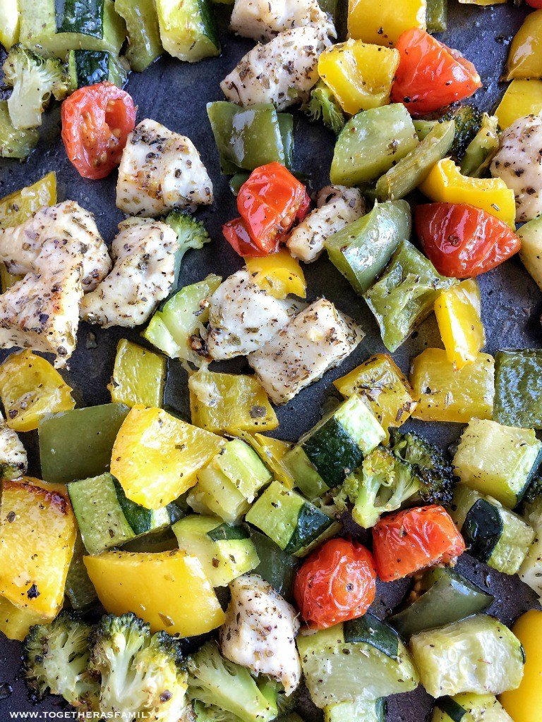Oven Roasted Chicken and Vegetables