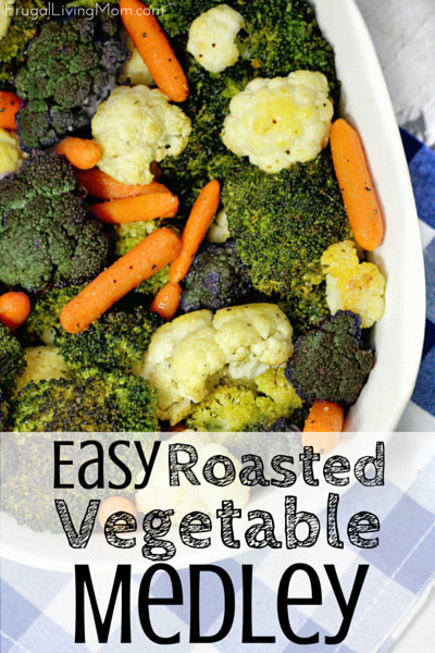 Easy Roasted Vegetable Medley