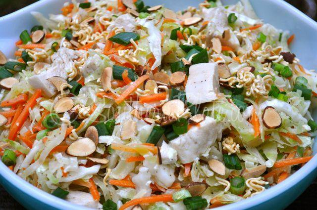 Chinese Chicken Salad From The Southern Fried Radio Show