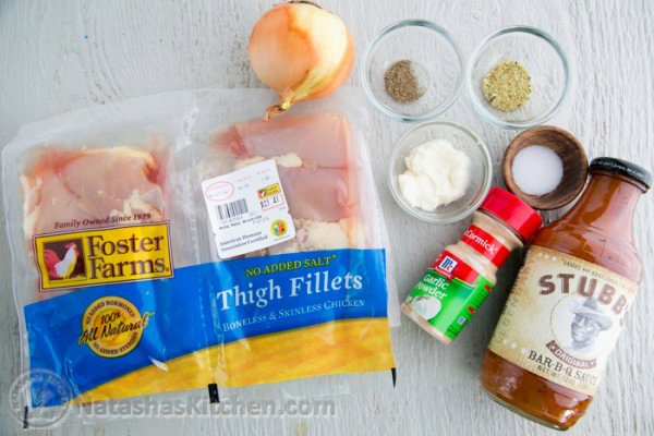 Juicy Barbecued Chicken Thighs Recipe