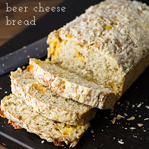 Quick Beer Cheese Bread