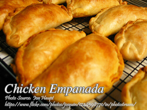 How to Make Chicken Empanada