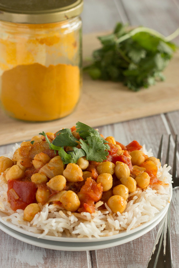 Quick and Easy Chana Masala from The Oh She Glows Cookbook