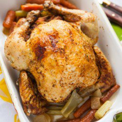 Whole Chicken in a Slow Cooker Recipe