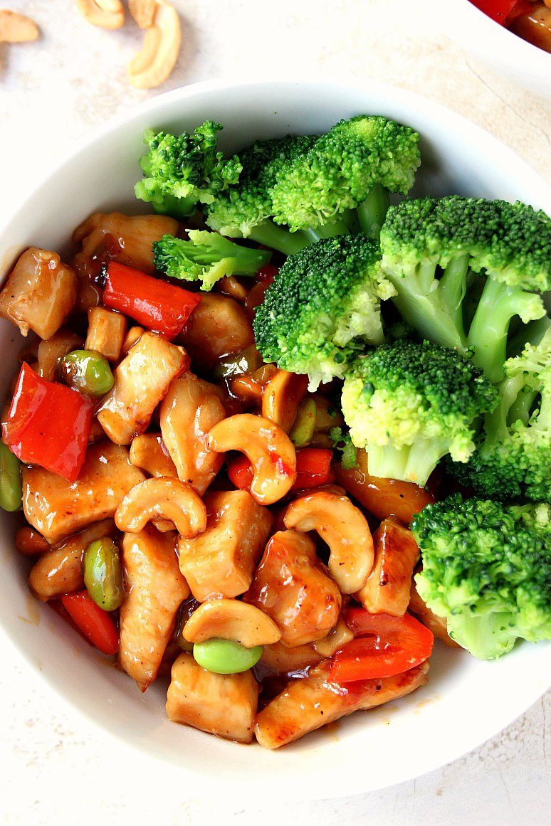 Quick and Easy Cashew Chicken
