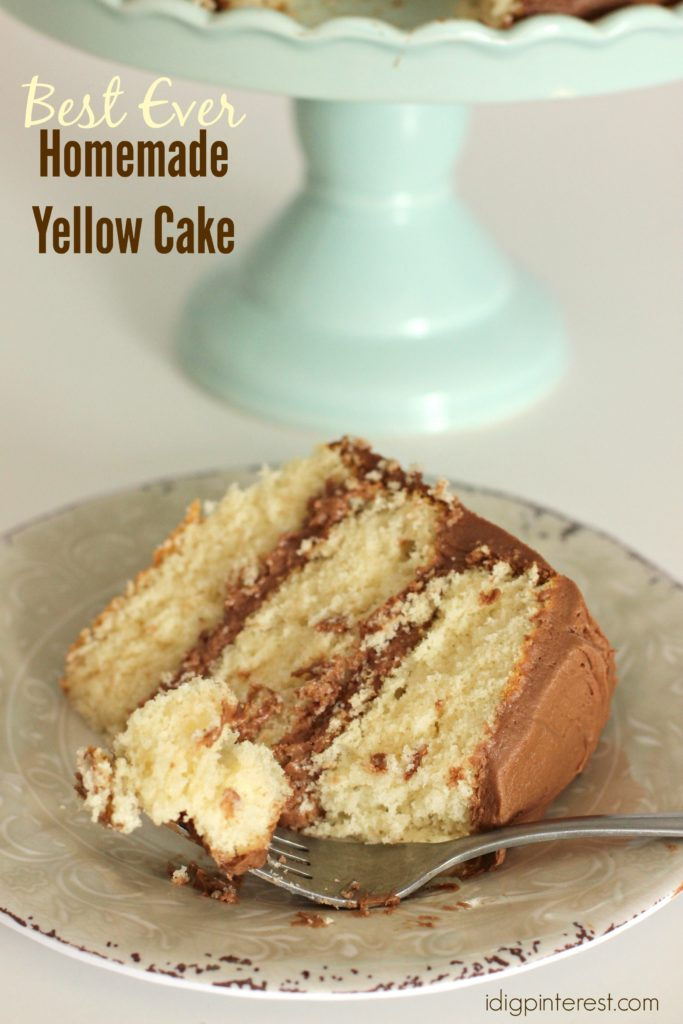 Best Ever Homemade Yellow Cake