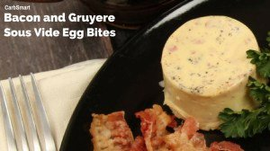 Low-Carb Gluten-Free Bacon and Gruyere Sous Vide Egg Bites