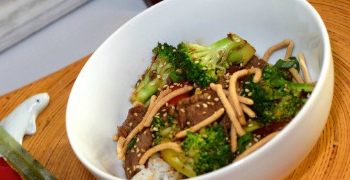 Quick Low-Fat Beef Broccoli Stir-Fry