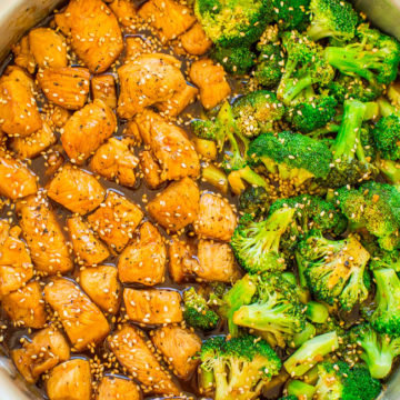 15-Minute Skillet Sesame Chicken with Broccoli