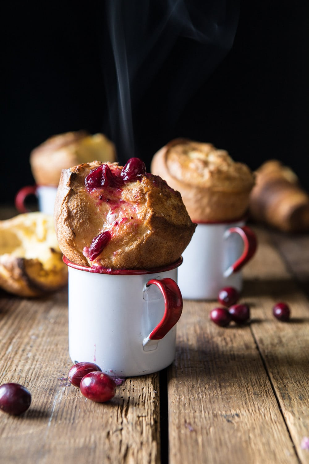 Perfect Popovers with Cranberry Butter
