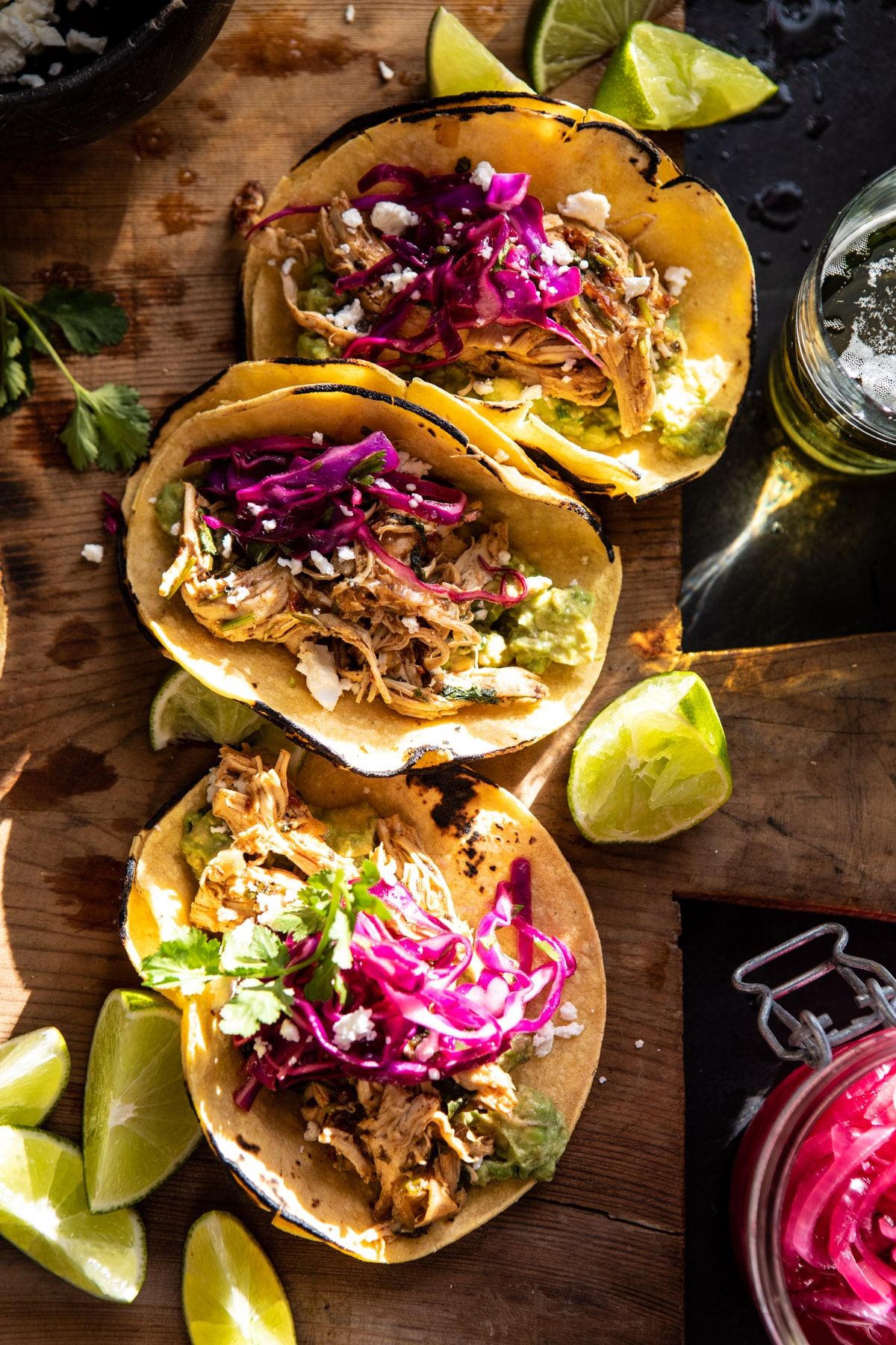 Slow Cooker Chipotle Orange Street Tacos