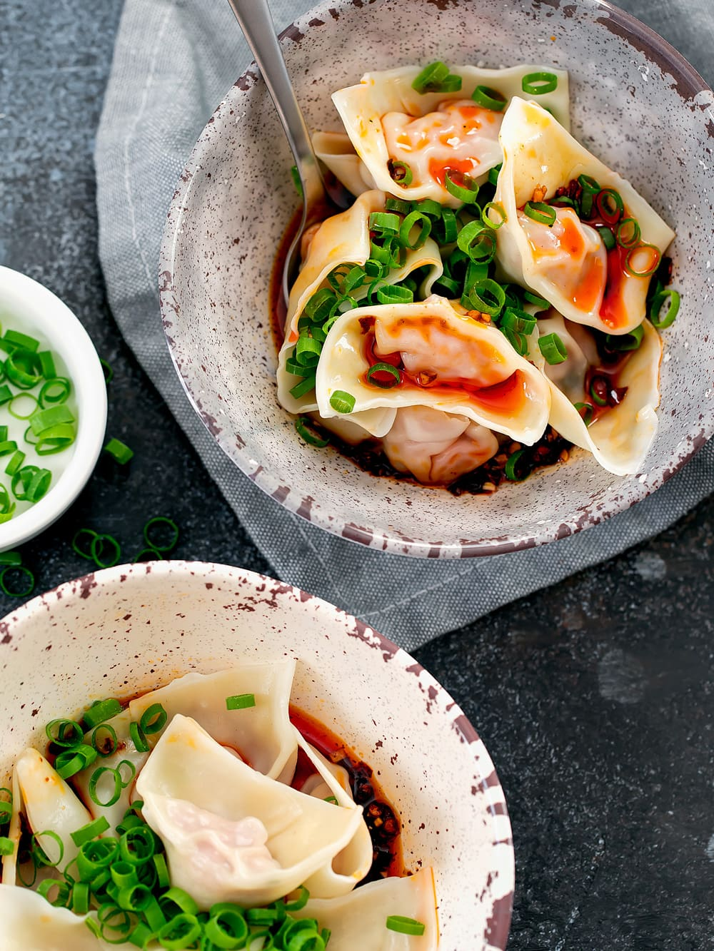 Sichuan Spicy Wontons