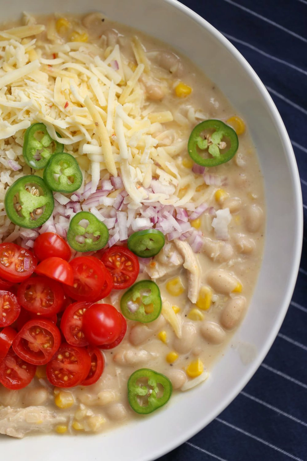 Skinny White Chicken Chili