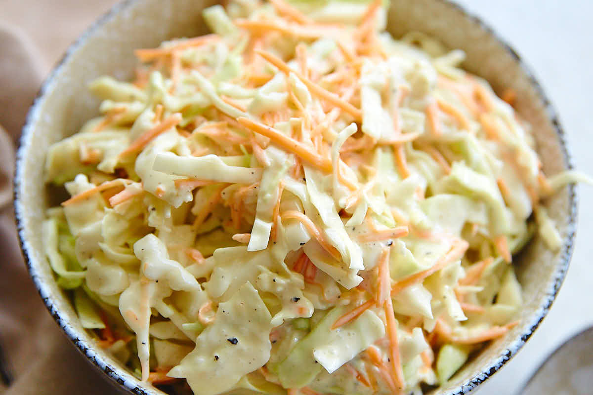 The Ultimate Homemade Coleslaw Recipe