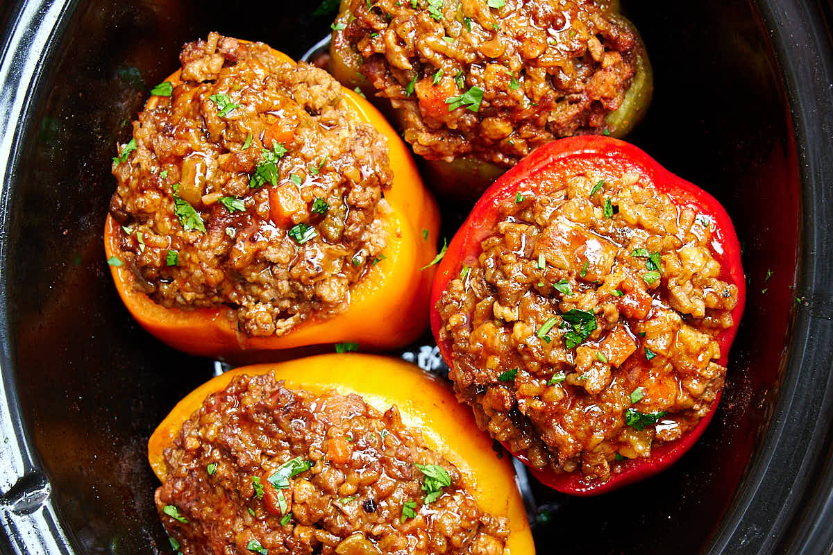 Seriously Good Stuffed Bell Peppers