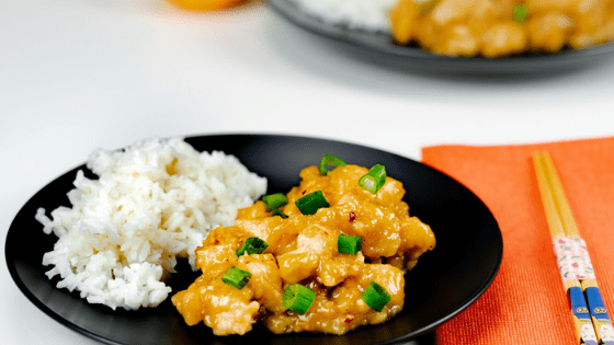 Instant Pot Orange Chicken (Panda Express Copycat)