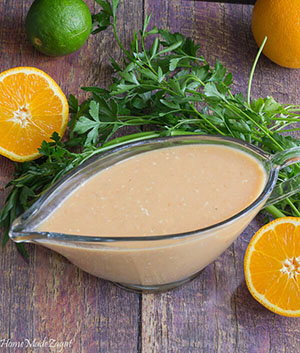 Easy Citrus Salad Dressing