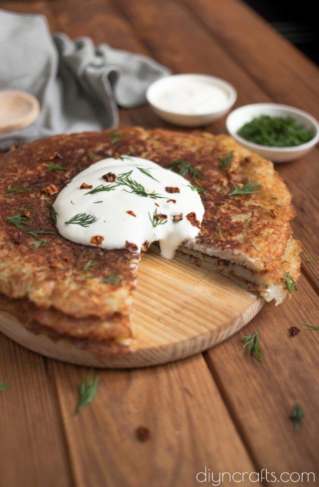 Crispy Potato Pancakes Recipe