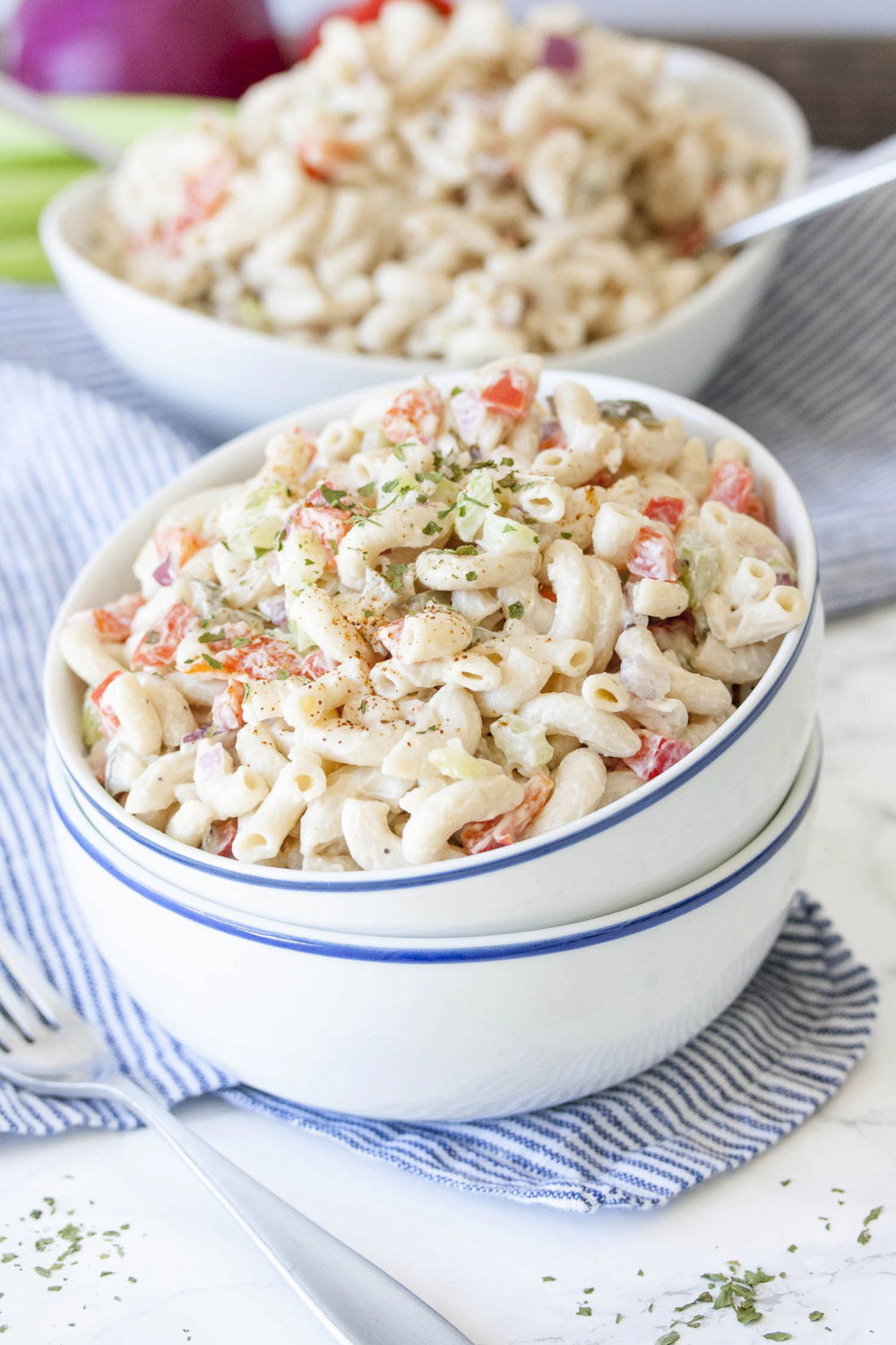 Healthy Vegan Macaroni Salad