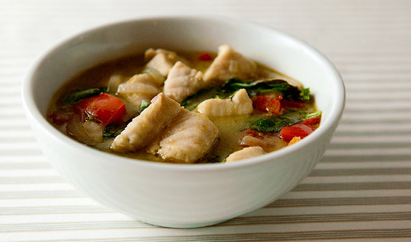 Thai Green Curry with Fish