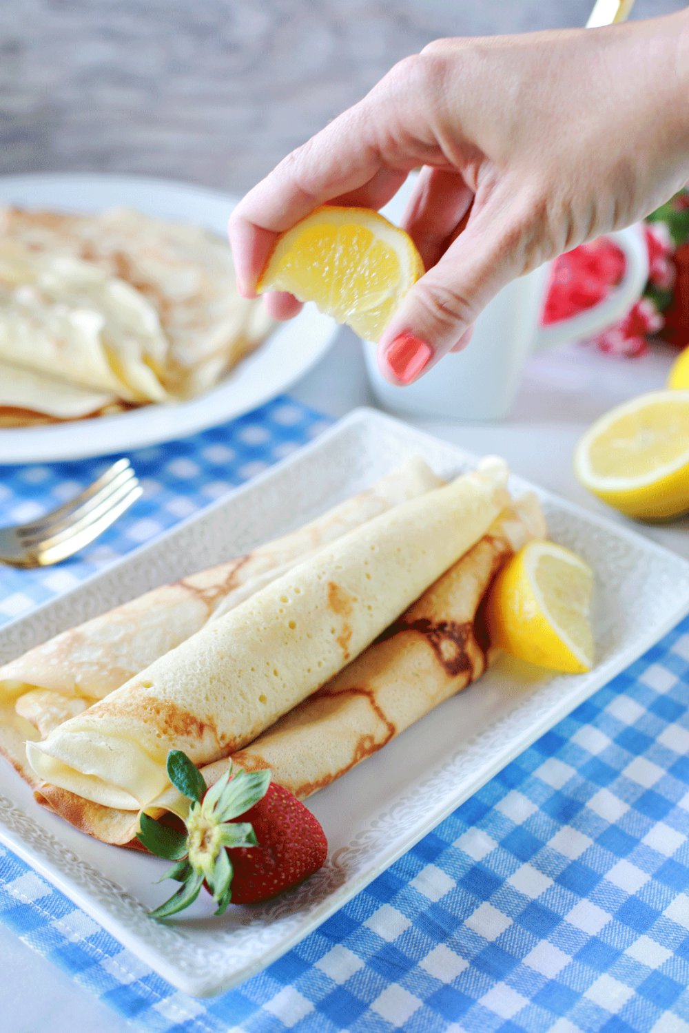 Dairy Free Crepes