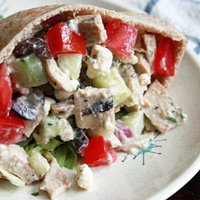 IT'S ALL GREEK CHICKEN SALAD TO ME