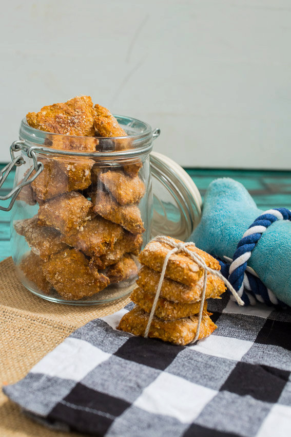 Sweet Potato Banana Dog Biscuits