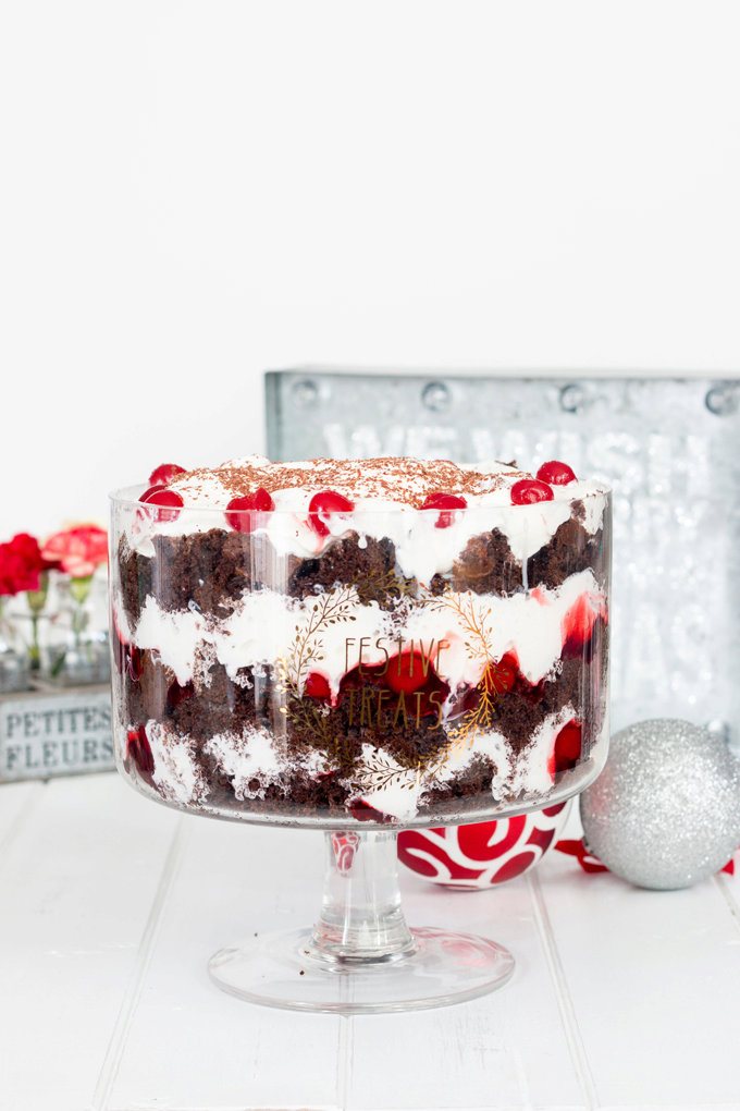 Black Forest Cake Trifle