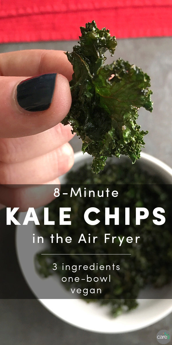 How to Make Kale Chips in the Air Fryer