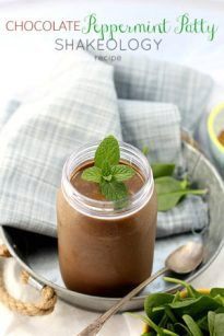 Creamy Chocolate Peppermint Shakeology Recipe