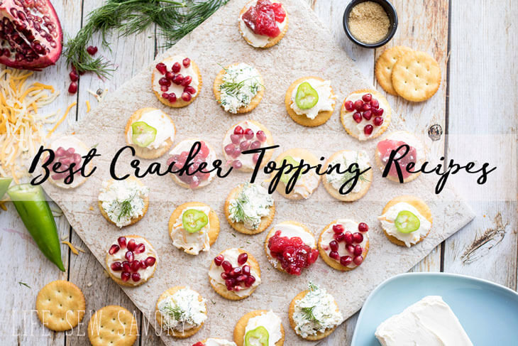 Best Cracker Toppings with Ritz