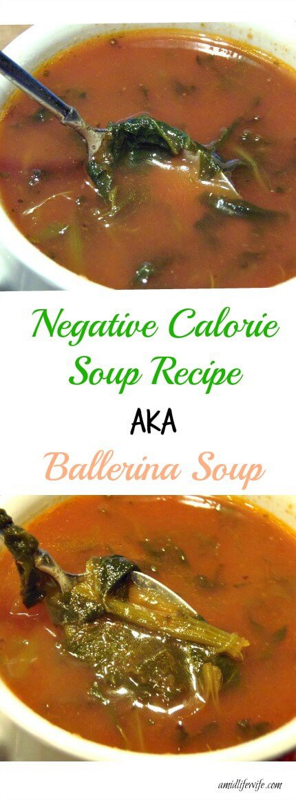 Low Calorie BALLERINA SOUP