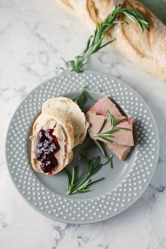 Buttery Chicken Liver Mousse