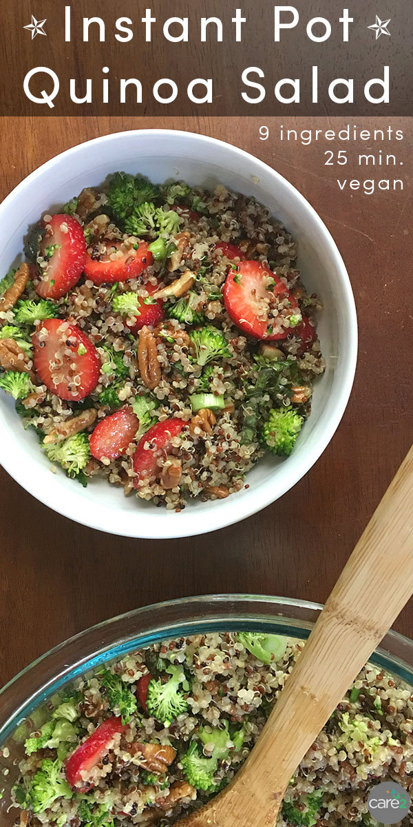 Instant Pot Quinoa Summer Salad