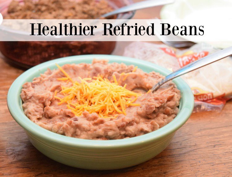 Healthier Refried Beans
