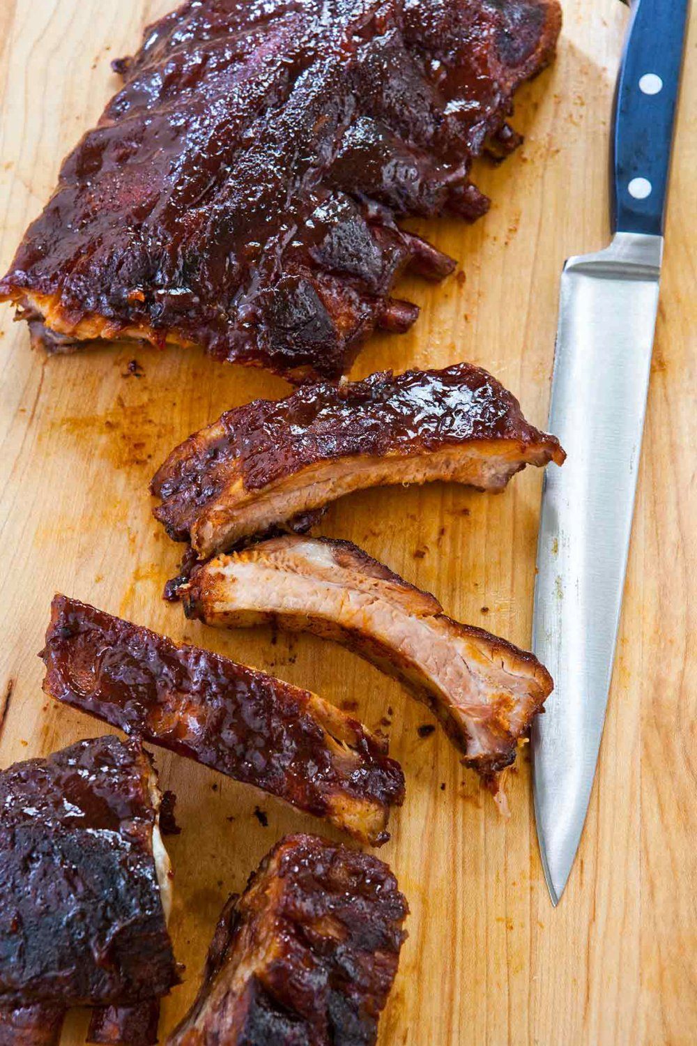 Slow Cooker Barbecued Ribs Recipe