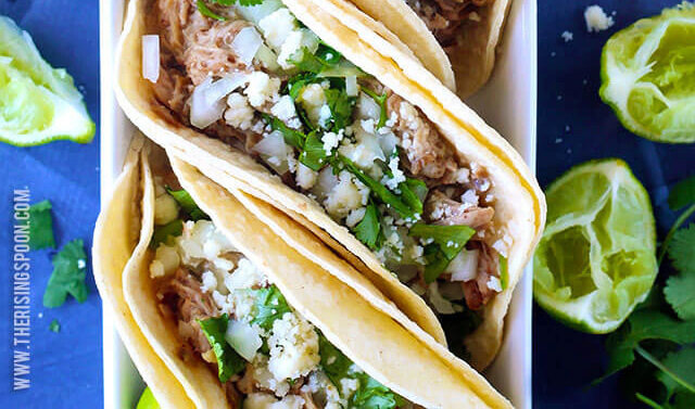 Carnitas Tacos with Slow Cooked Pork Shoulder