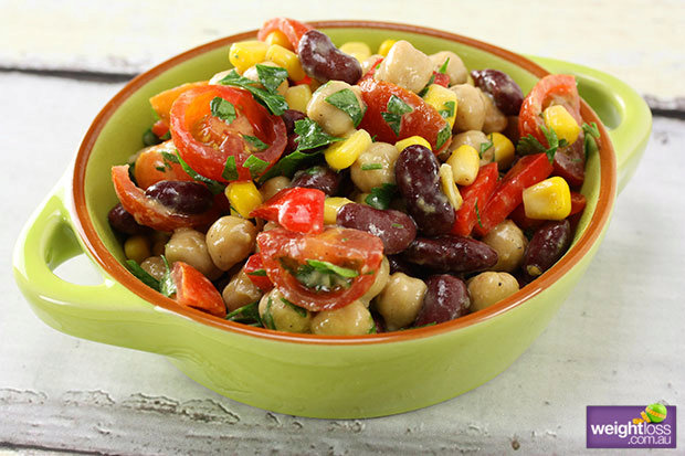 Chickpea and Bean Salad