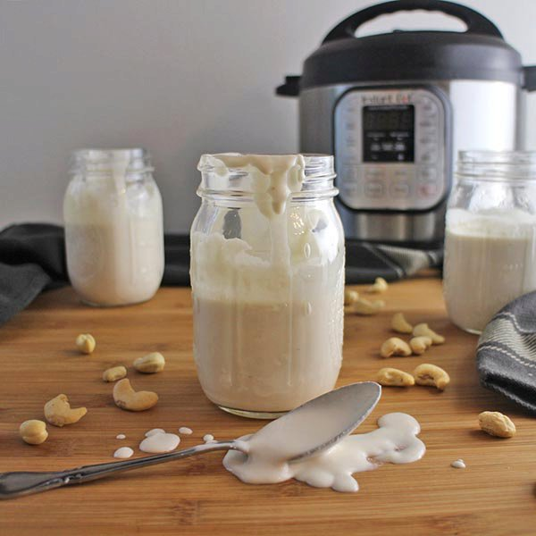 Unfiltered Instant Pot Cashew Yogurt