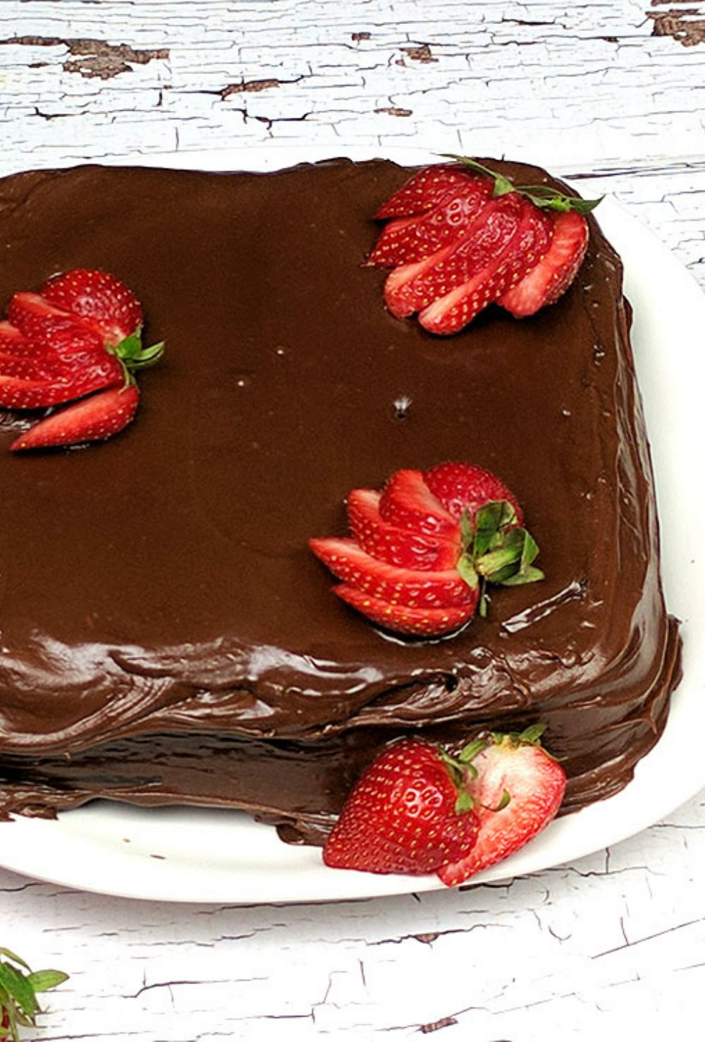 Old Fashioned Chocolate Mayonnaise Cake