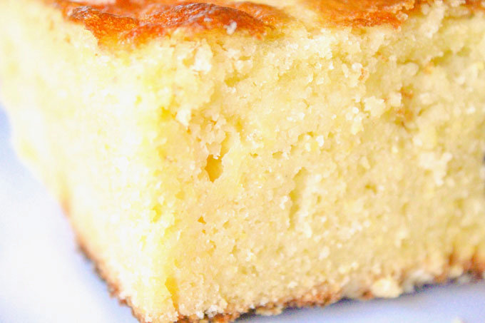 Moist Sweet Cornbread Recipe