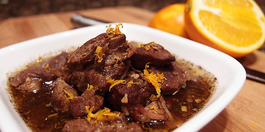 Cinnamon and Orange Beef Stew